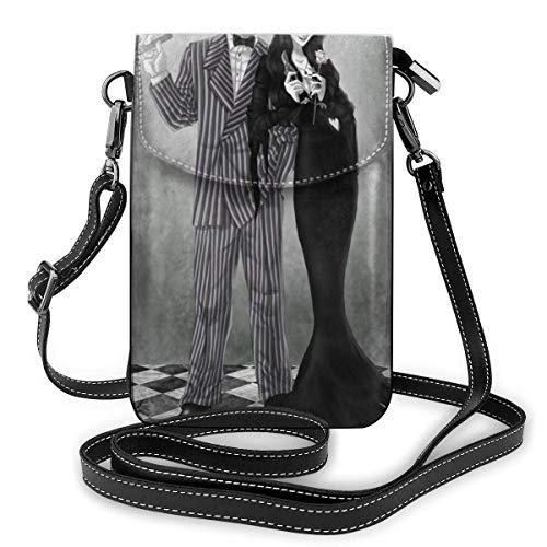 ゴメスとモルティシア ミニバッグ レディース ショルダーバッグ 携帯ポーチ 軽量 便利 ショルダーバッグ 携帯電話の財布