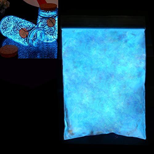 Brrnoo 3 Farben Farbstoff Fluoreszierendes Pulver, Epoxidharz leuchtende Pulverfarbe DIY Pigment Nagelbeschichtung Nächtliches Pulver Glow In The Dark Paint(03)