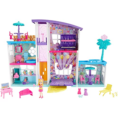 Polly Pocket Poppin' Party Pad Transforming Playhouse For $30 Shipped From Amazon