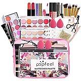 27 Piezas Juego de Maquillaje All in One Makeup Gift Set Incluye Corrector Camuflaje, Brochas, Lip Balm, Sombra De Ojos - Belleza Cosmético de Caja pour Cara y Labio Make-up