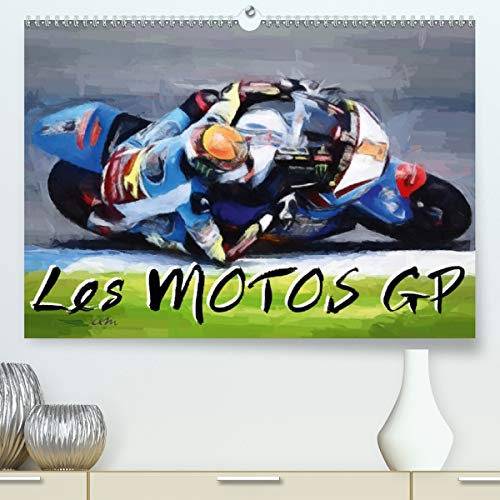 professionnel comparateur Moto GP (Calendrier Supérieur 2021 DIN A2 Horizontal) choix