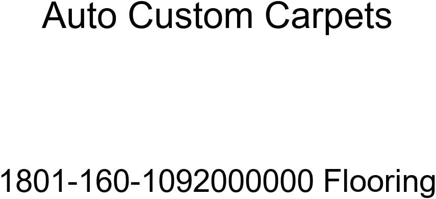 Auto Custom Max 40% OFF Carpets Flooring 1801-160-1092000000 San Francisco Mall
