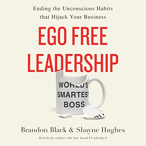 Ego Free Leadership audiobook cover art