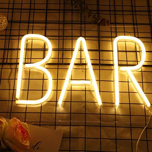 Aoliandatong Cartel de neón, luces de neón, letreros de pared, letreros de...