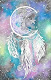 5D Full Drill Diamond Painting Kit, DIY Round Diamond Rhinestone Painting Kits Painting Cross Stitch Embroidery Pictures Arts Craft for Home Wall Decor (15.7x11.8 Inch, Dream Catcher)
