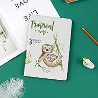 カスタム iPad Pro 11 2018 ケース (2018新モデル) マグネットス吸着式 オートスリープ機能熱帯の自然をテーマにしたかわいい赤ちゃんエキゾチックなヤシの木の葉保育園アロハ装飾