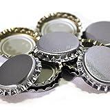 Crown Caps Silver 100 pk