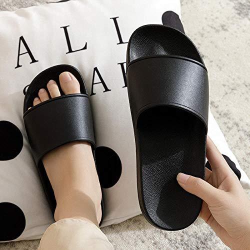 YYFF Planas Caminar Ortopedicas Zapatos,Sandali estivi per la casa,pantofole da casa in plastica-Nero_42,Sandalias Hombre