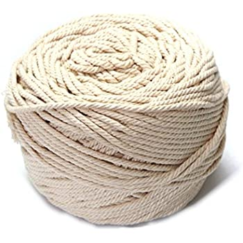 Rope DIY Craft Home Macrame 5mm Twisted Cotton Cord