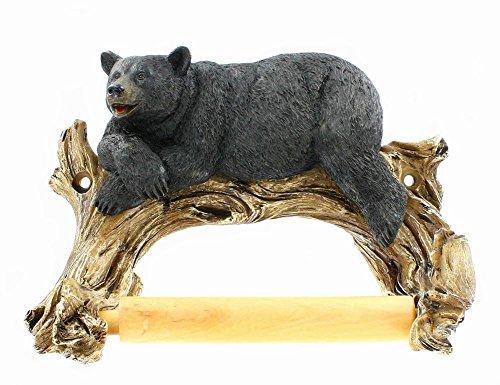 Top 10 best selling list for black bear standing toilet paper holder