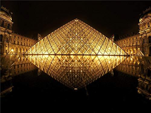 Museo De Louvre del Rompecabezas De 1000 Pedazos, París para El Amigo Adulto