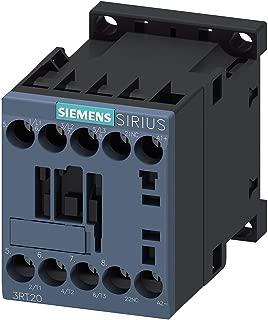Siemens 3RT20161BB42 CONTACTOR, AC-3, 4KW/400V, 1NC, DC 24V, 3-POLE, SZ S00 SCREW TERMINAL