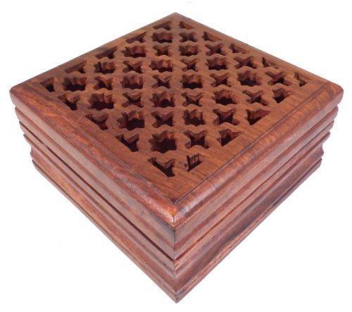 Holz Kästchen für Schmuck, Glücksbringer, Tarot Karten, Potpourri und kleine Schätze.