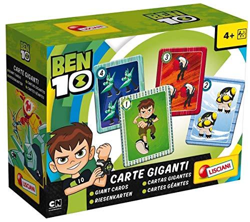 Lisciani Giochi 65981.0–Ben 10Giant Cards