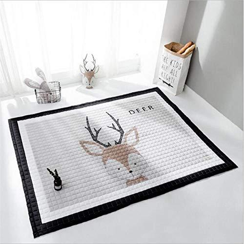 ANBAI Nordic stijl huis vloer woonkamer kleine tapijt slaapkamer kinderen tapijt delicate zachte grote tapijt vloerbedekking deurmat