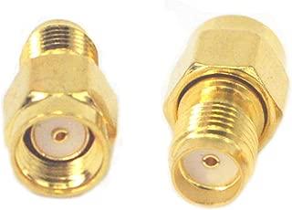 BOOBRIE RFアダプタ 無線周波数変換 RPSMAオス(P)とSMAメス(J)オスメス 無線LAN対応しコネクタ 延長ケーブル 2個セット