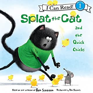 Splat the Cat and the Quick Chicks cover art