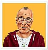 JUNIQE® Pop Art Politische Figuren Poster 20x20cm - Design