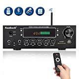 Best Compact Stereos - Wireless Bluetooth Home Audio Amplifier – 400W Dual Review
