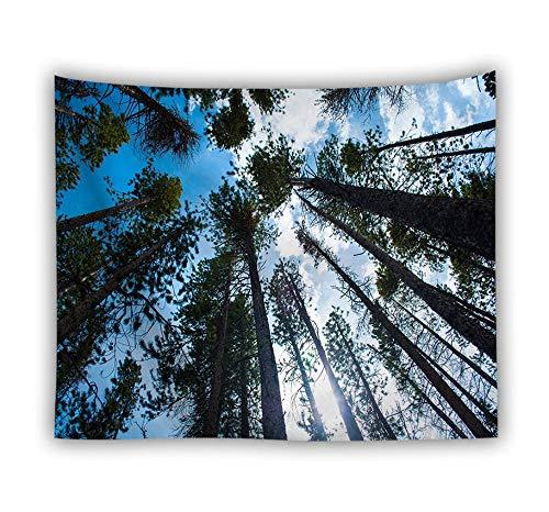 XIAOBAOZIGT Hd-bedrukt tapijt wandtapijt hoge overkapping strand handdoek slaapkamer eetkamer woonkamer decoratie 150×230cm