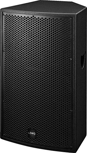 IMG STAGELINE PAB-212MK2 High-Power-PA- und DJ-Lautsprecher-box, 250W, 8 Ohm schwarz