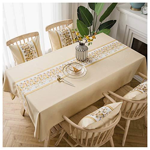 Tafelkleed voor eettafel, minimalistisch, modern, rechthoekig, Little