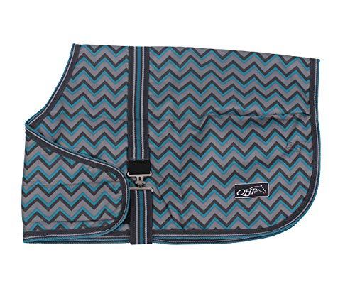 QHP Fohlendecke Outdoordecke Turnout Collection breiter Klettverschluss vorne (65 cm, Zigzag)