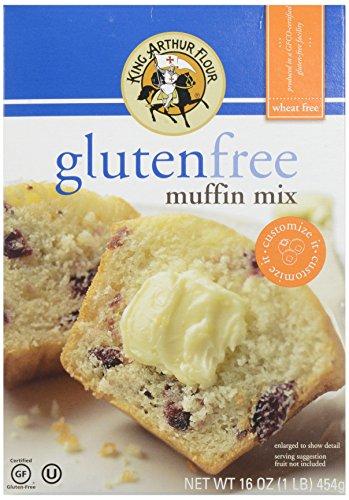 King Arthur Gluten Free Muffin Mix, 16 oz