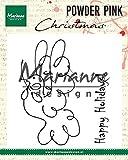Marianne Design PP2809 Sellos Transparentes, Paloma