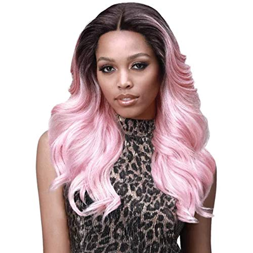 Bobbi Boss Premium Synthetic Swiss Lace Front Wig MLF328 KYLIE (TT/OLBERRY)