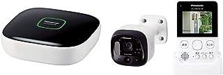 【セット買い】パナソニック ホームユニット KX-HJB1000-W & モニター付き屋外カメラ VS-HC105-W