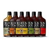 Rufus Teague - Variety BBQ Sauce Pack - Premium Barbecue Sauce - 6 Bottles