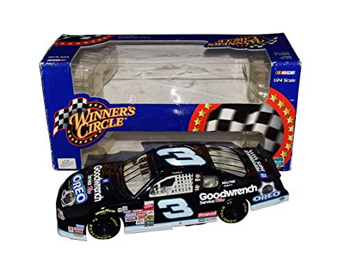2001 Dale Earnhardt Sr. #3 Goodwrench Team OREO DAYTONA CAR Rare Vintage Collectible Winner's Circle 1/24 Scale NASCAR Diecast Car