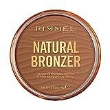 Rimmel London, Nuova Natural Bronzer, Terra Compatta Effetto Naturalmente Abbronzato, 003 Sunset