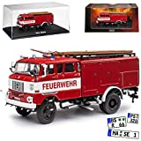alles-meine.de GmbH IFA W50 TLF 16 Freiwillige Feuerwehr 1965-1990 1/72 Atlas Modell Auto