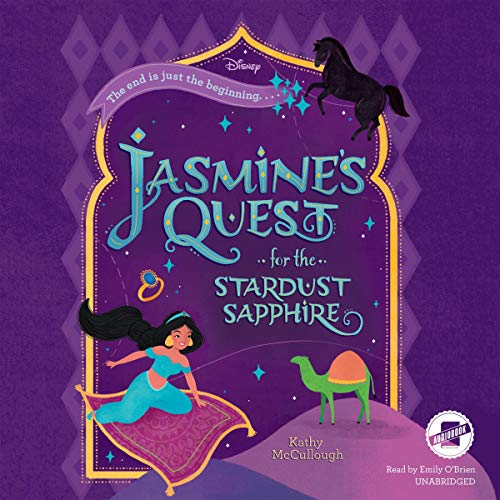 Jasmine's Quest for the Stardust Sapphire audiobook cover art