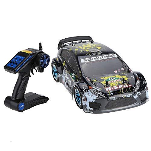 Tletiy Maßstab 1:10 4WD RTR RC Car 2,4 GHz 2-Kanal-Fernbedienung Auto Verbrenner Graffiti RC Sportwagen Off-Road Sport Rally Racing Autos Fahrzeug Geburtstag for Kinder Erwachsene