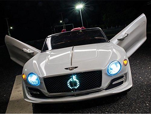 RC Auto kaufen Kinderauto Bild 4: Bentley Elektro Kinderauto/Ledersitz / 2 x 390 Motor / 2 x 6V4AH Batterie/Hartgummi Reifen/USB / SD / MP3 / Modell 2018*
