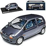 Renault Twingo I Meteor Gris 1ère génération 1993-2007 1/18 Norev Modèle Voiture