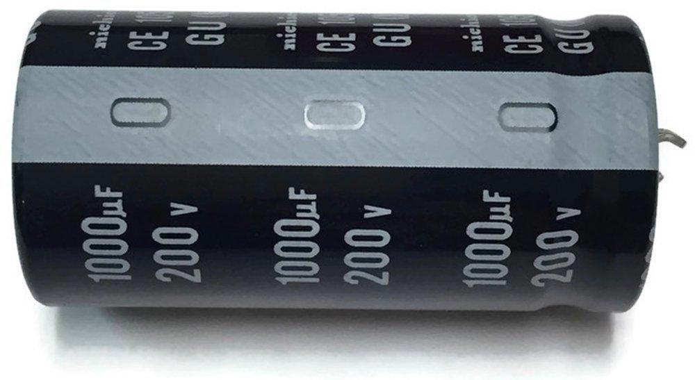 10pcs 820uF 25V Japon NICHICON HV Series 10x20mm Courant dondulation /élev/é Basse imp/édance 25V820uF Condensateur /électrolytique en aluminium