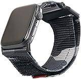 Urban Armor Gear Active Correa para Apple Watch 42mm / 44mm (Watch SE, Series 6, Series 5, Series 4, Series 3, Series 2, Series 1, Correa Reemplazable) Negro (Camuflado)