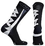 Northwave Extreme - Calcetines de invierno para bicicleta, color negro y blanco