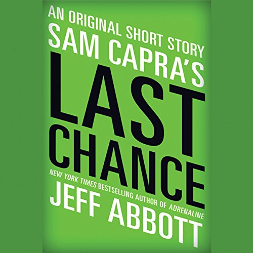 Sam Capra's Last Chance audiobook cover art
