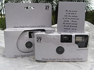 disposable wedding camera table cards