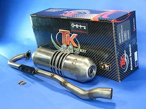 Auspuff Ersatzteil für/kompatibel mit Kymco Maxxer 250/300 KXR 250 / MXU 250/300 Edelstahl