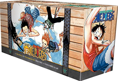 One Piece Box Set 2: Skypeia and Water Seven: Volumes 24-46 with Premium (2) (One Piece Box Sets)