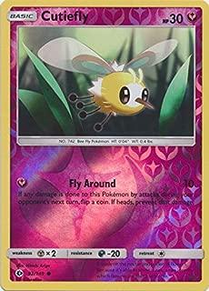 Cutiefly - 92/149 - Common - Reverse Holo - Pokemon Sun & Moon