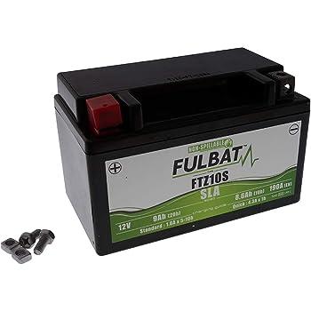 Pfand /€7,50 inkl Gel-Batterie f/ür Yamaha YZF-R1 Typ RN04 2000-2001 wartungsfrei