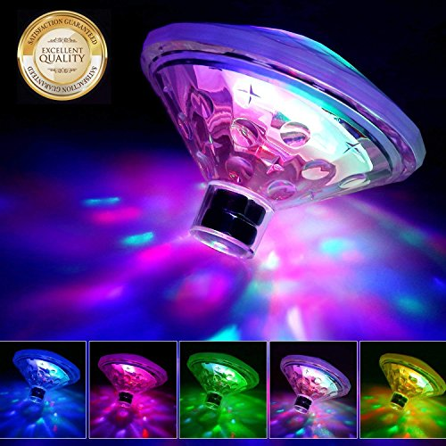 Ailiebhaus LED Unterwasserlicht Badewanne Beleuchtung Licht Leuchten Für Den Teich Pool Spa Party Entertainment Whirlpool Dekoration