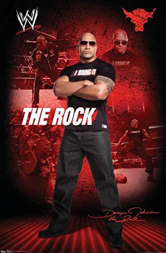 Trends International WWE The Rock Wall Poster 22.375' x 34'